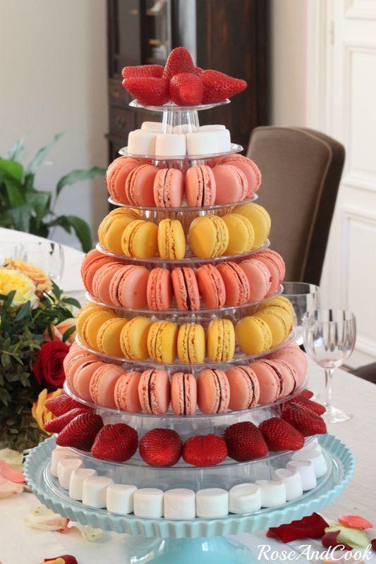 macaroon cake stand - photo #16