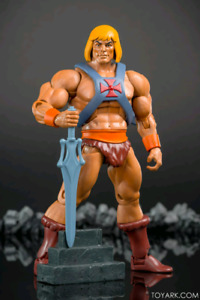 He-Man & Skeletor Filmation Action Figures New Masters Universe