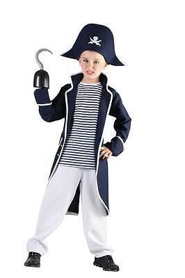 PIRAT CAPTAIN HOOK, JUNGEN KOSTÜM, KINDER BUCH WOCHE KLEINE (Captain Hook Pirat Kostüme)