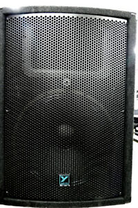 2- YX15P Powered Loudspeaker - Mint condition