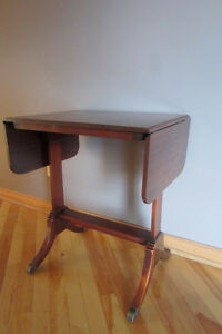 table antique acajou Mahogany