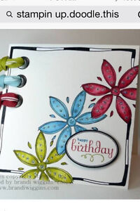 Stampin up Doodle This