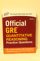 Official GRE Quantitative Reasoning, Vol 1 (ETS Publication)
