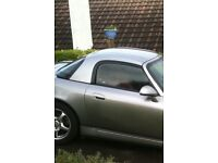 Hardtop and fixing kit for Honda S2000 Silverstone colour