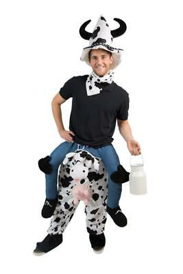 Carry Me trag mich Huckepack Kostüm Kuhkostüm Kuh Overall Kuhoverall (Milch Kostüm)