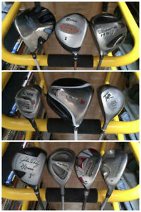 TaylorMade / Callaway / Ping / Nike Golf Clubs, Bags Accessories