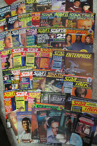Various Star Trek Magazines For Sale, Asking $30 OBO for 45