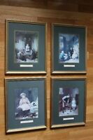 Framed 1800 Themed Pictures