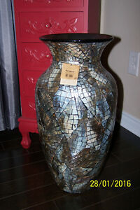 Pier 1 Mother of Pearl vase