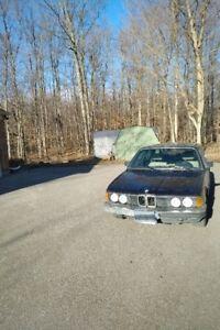 1986 BMW 7-Series Sedan