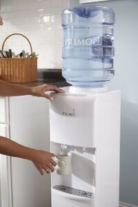 WATER COOLER Primo White 2 Spout Top Load Hot Cold Dispenser NEW