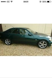 Lexus is200 green rear bumper near mint condition 98-05 breaking spares can post is 200 is300