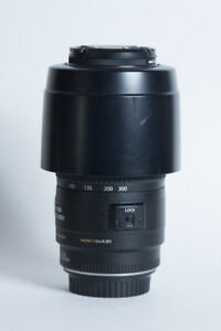 Canon EF USM 70mm-300mm w/ IS