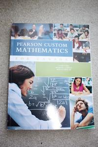 Pearson Custom Mathematics for Canada