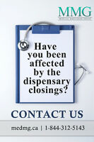 Effected by the Dispensary Raids? Contact MMG