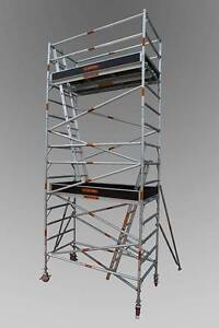 Synergy Scaffolding Aluminium – (Dimensions: 1.3m x 2.0m x 6.6m) Revesby Bankstown Area Preview