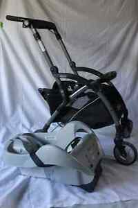 Graco Car Seat Baby Stroller and Extra Base