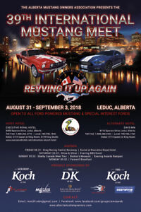 Wanted: Fords! 39th Int. Mustang Meet-Aug.31-Sept.3, 2018
