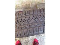 Continental tyre and wheel 5x100 golf Impreza