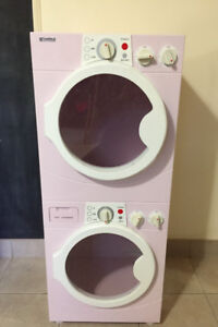 Kids play washer & dryer.
