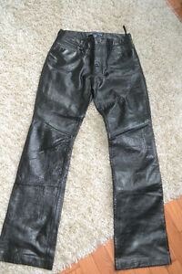 GENUINE LEATHER PANTS/BLAZER