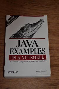 Java Examples in a Nutshell - O'Reilly Kitchener / Waterloo Kitchener Area image 1