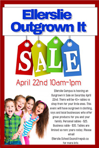 Outgrown it sale!