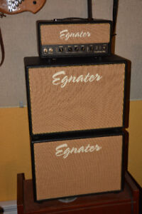 "Egnater Tweaker amp stack with 2  12"" Celestion cabinets."