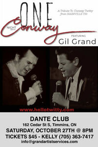 One night with Conway, featuring  Gil Grand