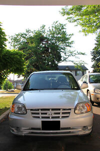 2006 Hyundai Accent Sedan Manual