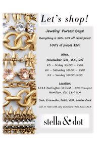 Stella and Dot sample sale / Wearhouse sale
