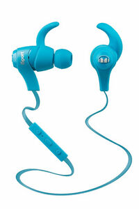 Monster iSport Wireless Bluetooth In-Ear Headphones (Blue)