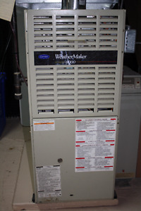 Carrier WeatherMaker 8000 natural gas furnace mid efficiency