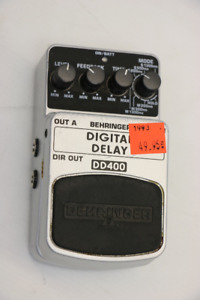**INCREDIBLE** Behringer DD400 Digital Delay Pedal (#1993)