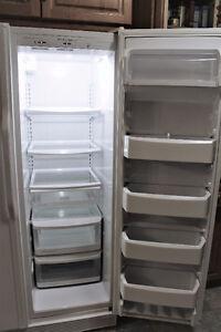 KitchenAid Side-By-Side Refrigerator Freezer, Mint!