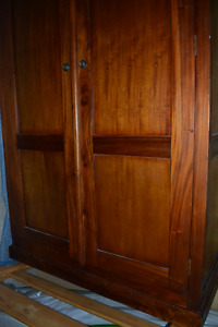 Mahogany Wardrobe - Excellent condition