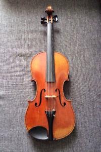 Violon antique d'origine allemande