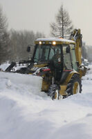 Snow removal, plowing