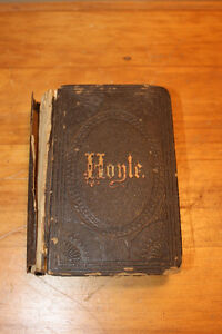 Old Hoyle's Game Book - 1845 London Ontario image 1