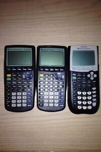 2x (Ti-83 calculators) & 1x (Ti-84 calculators)