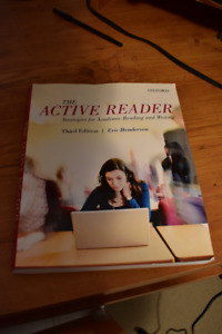 The Active Reader 3rd ed Eric Henderson
