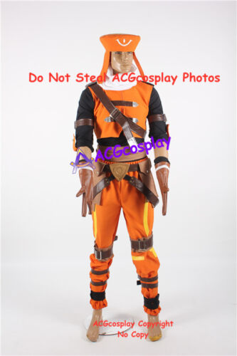 .Hack Link Kite Cosplay Costume include the belt buckle prop
