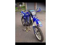 Yamaha wr 400 road registered ( rm yz kx )
