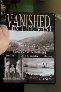 Vanished In The Mist - Newfoundland DVD's