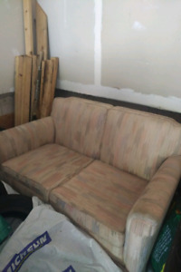 Couch and chair. Free and needs to go immediately.