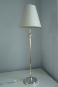 Table Lamp - Clear Crystal - Tall and Thin - Perfect !