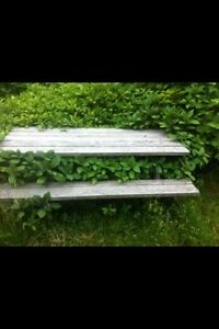 Picnic table for sale.