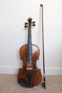 Violin 100+ years old, made in Japan, excellent condition
