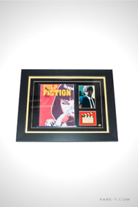RARE-T Exclusive Limited Edition 'PULP FICTION - SCRIPT' Frame
