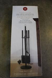 Fireplace tool kit